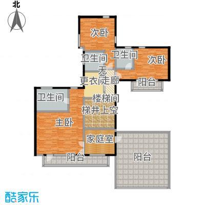 观唐云鼎156.72㎡B2二层户型10室