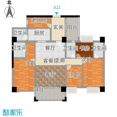虎门地标户型5室1厅4卫1厨