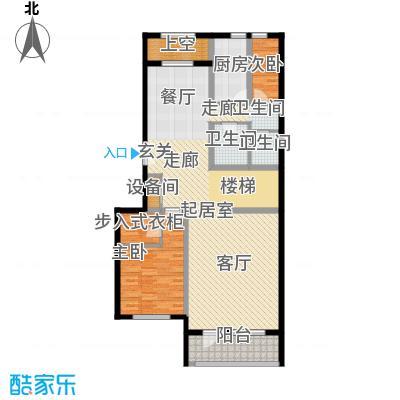 御苑国玺版-地上1F地上3F 109-126平米户型5室2厅4卫