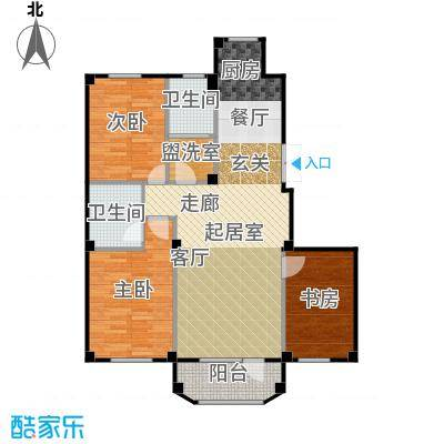 三鼎春天117.00㎡三鼎春天户型图D1户型117平米三室两厅两卫户型图(1/6张)户型3室2厅2卫