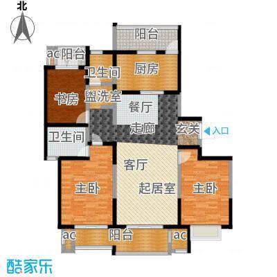 和风雅致140.00㎡和风雅致户型图E1W户型(7/10张)户型3室2厅2卫