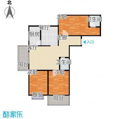 阳光80公寓114.52㎡阳光80公寓户型图3室2厅2卫114.52平米I户型(1/1张)户型3室2厅2卫