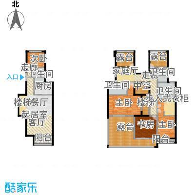 中惠卡丽兰146.48㎡C3紫钻(紫罗兰)户型4室4卫1厨