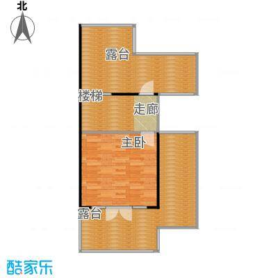 保利生态城68.58㎡47栋2三层户型1室