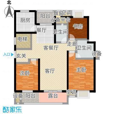 中新翠湖133.00㎡中新翠湖户型图A户型(1/2张)户型3室2厅2卫