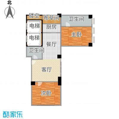 印象琶洲公寓126.78㎡四、五层0户型2室2卫1厨