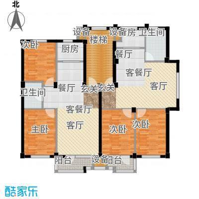 翠岛经典翠岛经典户型图(3/5张)户型10室
