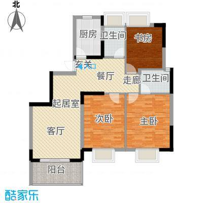 MAX未来111.80㎡E3户型3室2厅2卫QQ