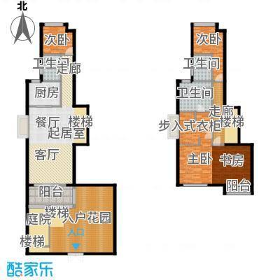 中惠卡丽兰136.32㎡C1紫钻(纯紫)扩面户型3室3卫1厨
