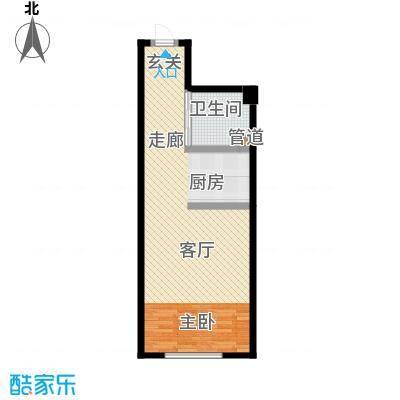 世元国际公寓世元国际公寓户型图1室1厅1卫1厨56.67㎡(3/3张)户型10室