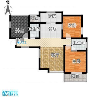 凤城九号112.91㎡3#/5#楼B1户型10室