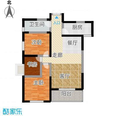 凤城九号94.62㎡A3户型10室