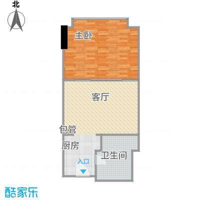 印象琶洲公寓65.06㎡四、五层1户型1室1卫