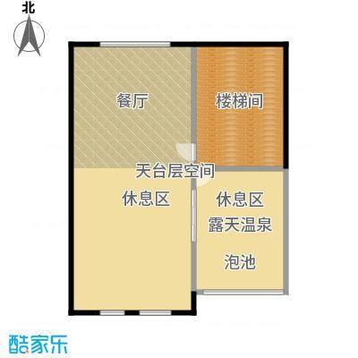春晖・随园104.78㎡图为别墅平层图户型