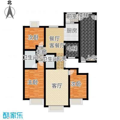 荣斌公园壹号135.65㎡D 户型3室2厅2卫