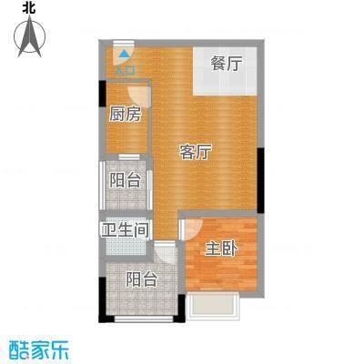 东苑花园57.64㎡户型10室