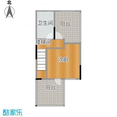 武汉锦绣香江E2层原始户型1室1卫