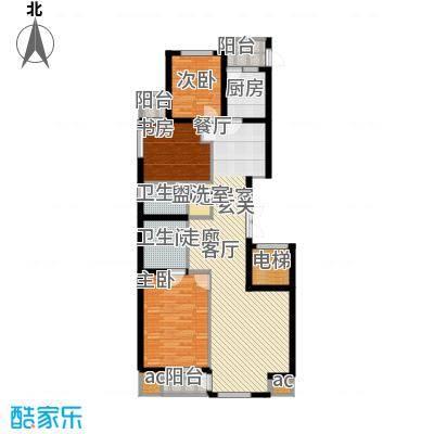 盛和观邸盛和观邸户型图三室两厅两卫一厨125.12平米(4/7张)户型10室
