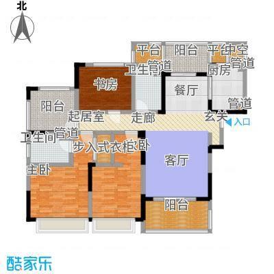 绿地华尔道名邸136.00㎡绿地华尔道名邸户型图C2户型(3/3张)户型3室2厅2卫