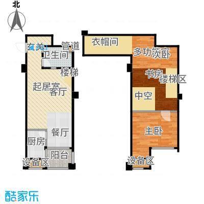 立方寓73.00㎡立方寓户型图D-b(4/7张)户型10室