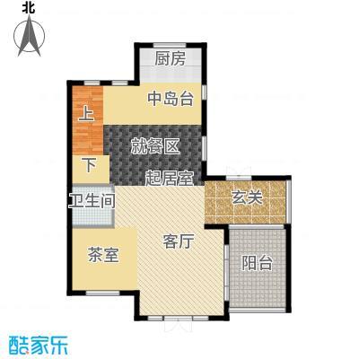 君海130.47㎡B户型10室