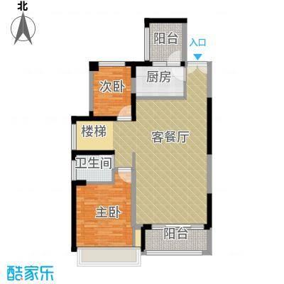 中粮一品澜山花园145.00㎡E户型5室3厅2卫