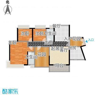 富山居花园137.00㎡10栋01、02\\0304户型3室2卫1厨