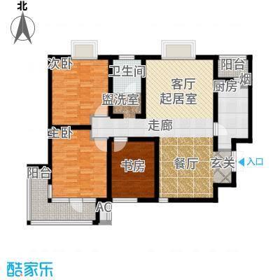 发祥福邸户型3室1卫1厨