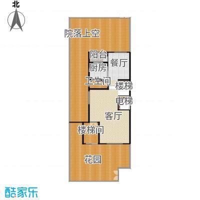 熙园山院243.00㎡S7型别墅2层户型5室3厅4卫