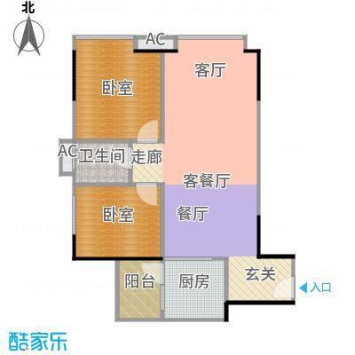 中兴花园二期D栋0户型1厅1卫1厨
