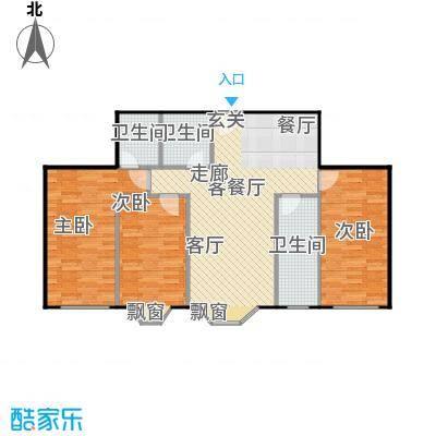 东方维也纳T-A户型3室1厅3卫