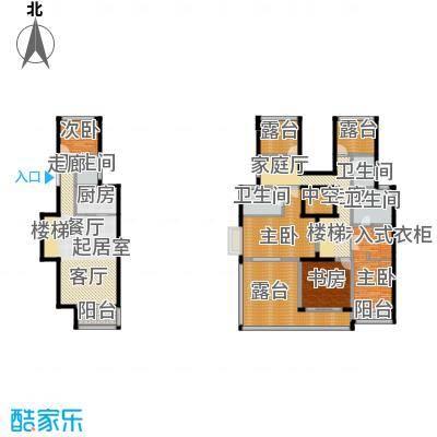 中惠卡丽兰146.48㎡C3紫钻户型4室4卫1厨