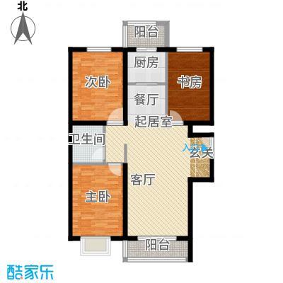 世纪龙庭二期120.00㎡N1户型3室2厅1卫