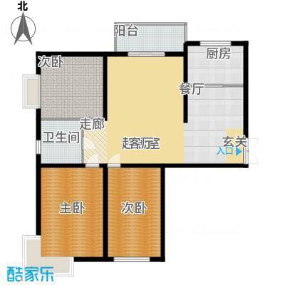 巨华朗域133.00㎡I户型3室2厅1卫