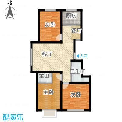 水泉文苑127.18㎡E户型10室