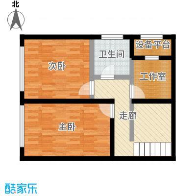 保利金香槟78.54㎡L2(二层)户型4室4厅4卫