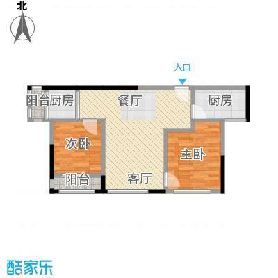 万科金域华府三期75.00㎡1-5号楼标准层01户型10室