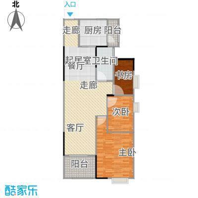 碧桂园豪庭J74北二楼六街9号三、四、六、八、十、十二、十四、十六、十八层01单元户型3室1卫1厨