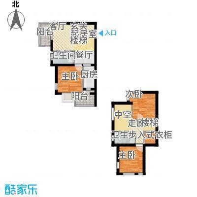 金隅时代城户型图5#公寓(4/13张)