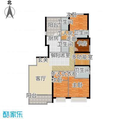 天銮235.00㎡A3栋01单元(2-13 16-31 34-47层)户型4室2厅3卫
