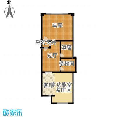 保亿丽景山103.00㎡联排别墅A地下二层户型