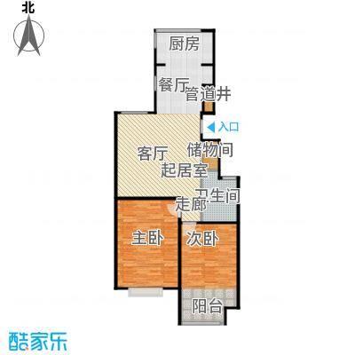锦绣华城90.67㎡二期户型