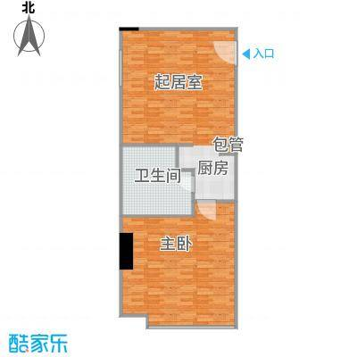 印象琶洲公寓76.06㎡四、五层0户型1室1卫