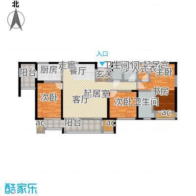 和风雅致138.00㎡和风雅致户型图F1户型(10/10张)户型3室2厅2卫