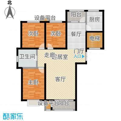 香榭澜湾127.38㎡香榭澜湾户型图A户型(9/9张)户型3室2厅1卫