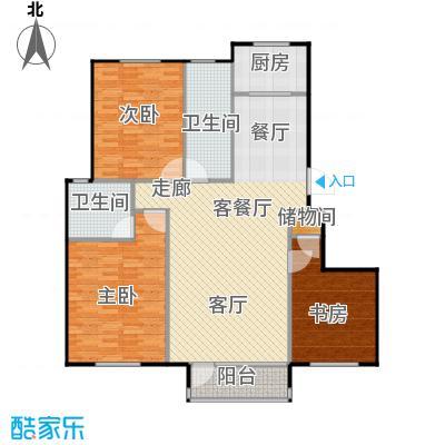 汇益华庭131.66㎡汇益华庭户型图(2/3张)户型10室