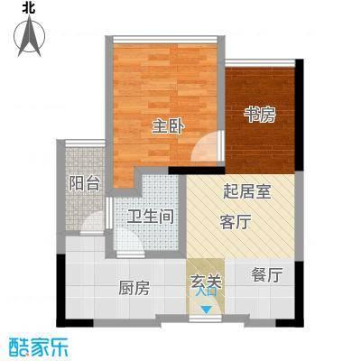 中央财津户型1室1卫