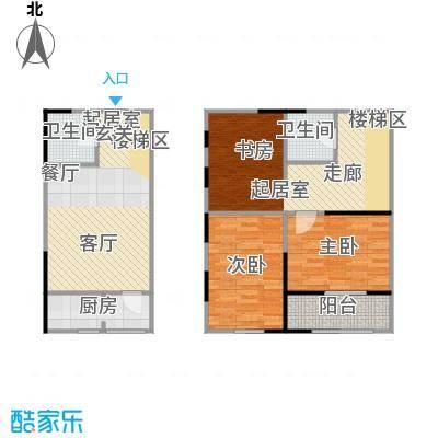 广天国际公寓43.66㎡D户型2室2厅1卫