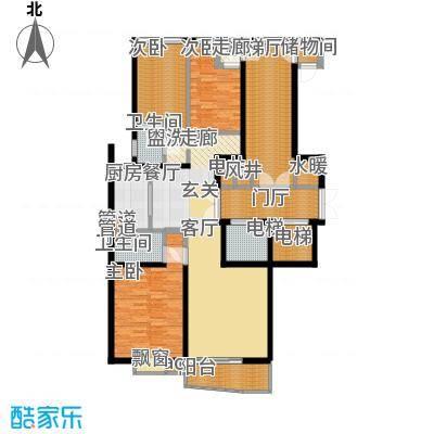 恩和家园138.10㎡恩和家园户型图(3/6张)户型10室