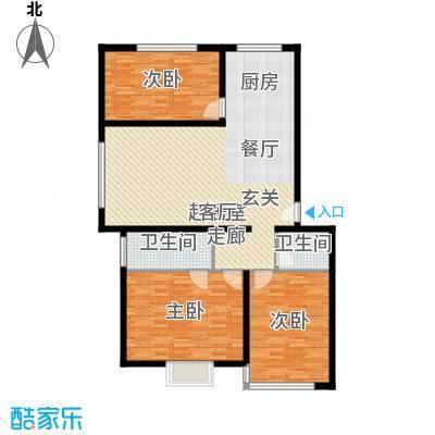 新街坊117.41㎡新街坊户型图(9/9张)户型10室